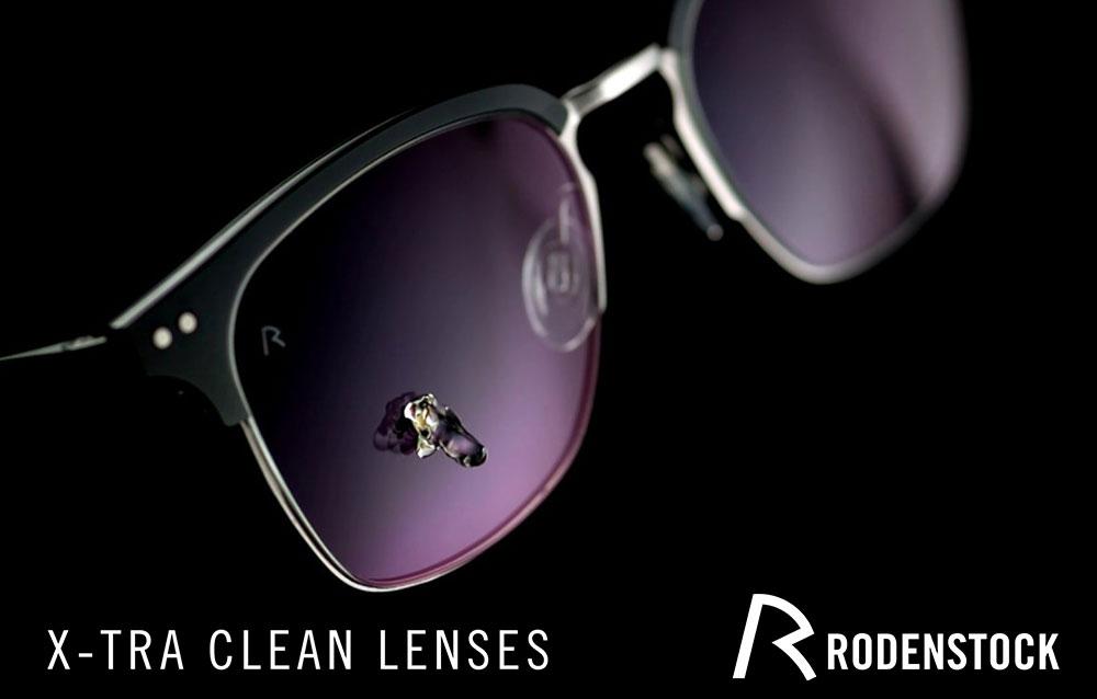 Lenti Rodenstock X-Tra Clean. Una novità assoluta, in anteprima.